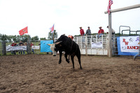 RW Ranch's 1st Annual Bucking Bull Futurity 2 year olds August 11, 2012